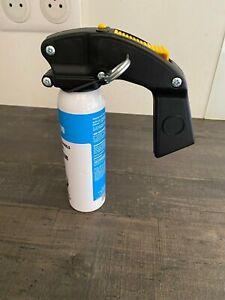Spray Bombes Lacrymogènes Professionnelle 100ML Gel Poivre Avec Poignée