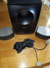Sony SS-WSX1 Speaker Subwoofer Power Cables Included