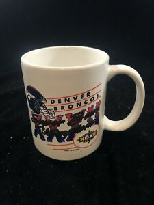 1997 Denver Broncos Super Bowl XXXII Champion Coffee Cup
