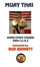Martial Arts / Muay Thai Home Study Course / 3 Dvd's