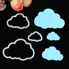 3 Clouds Metal Cutting Dies Stencils Scrapbooking Card Embossing Craft DIY