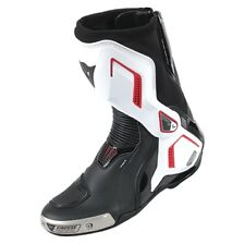 Motorrad Stiefel Dainese Torque D1 Out Boots weiß/lava-rot Gr. 43