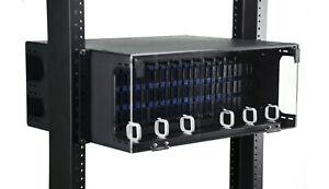 Fiber Optic Rack Mount 4 RU SCUPC SMF 144 Port FDP Patch Panel