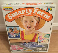 Vintage 1985 Smarty Farm Game By Spear's Games - Age 3 - 8 RARE Game 1-2 players