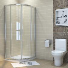 900x760mm Quadrant Shower Enclosure Corner Cubicle Glass Screen Door FREE DEL