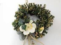 1 Türkranz Christrose Weihnacht ** Neuware** Für Innen und Aussen 30 cm