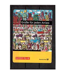 Bund Markenheftchen  73a - Post Grußmarken : Europa  James Rizzi postfrisch 2008
