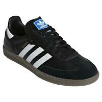 adidas ORIGINALS MEN'S SAMBA OG TRAINERS SHOES SNEAKERS CASUALS BLACK RETRO NEW