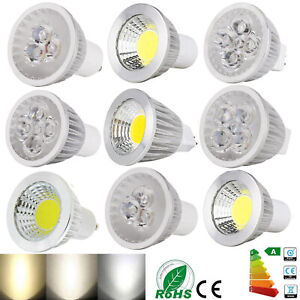 Dimmable LED Spotlight COB/Epistar Bulb GU10 MR16 GU5.3 6W 9W 12W 15W Lamp RK