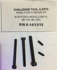 K-14/15/19 Panel Punch Repair Kit (Screws Only) for RB-14/MK-15P/MK-19P (DSP)