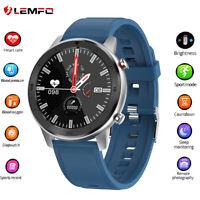 2020 Lemfo DT78 reloj inteligente Podómetro Ritmo cardiaco Deportive Android IOS