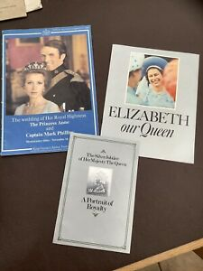 Vintage royal Family Books/ Information Memorabilia