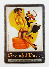 Grateful Dead Backstage Pass Portland Oregon 5/29/1995 Pin Up Girl Cheesecake OR