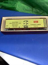 ho refrigerator car GREEN BAY ROUTE LINES