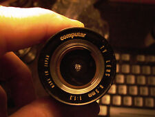 Computar TV lens 8.5mm F:1.3 For Pentax Q Q10 Q7 Q-S1 or Nikon 1 series 9+Cond