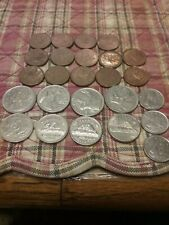 Canada Mixed Lot of Coins,Quarters,Nickels,Dines and Penny. Free Ship