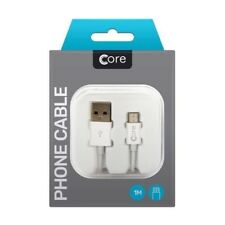 Genuine Micro USB Charging Cable S for Samsung & Android Phone Charger Core 100