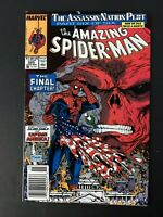AMAZING SPIDER-MAN #325 MARVEL COMICS 1989 VF NEWSSTAND EDITION