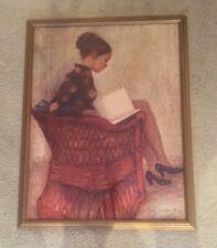 Cayetano de Arquer Signed & Numbered Ltd. Ed Framed Print El Sillon Rojo 186/260