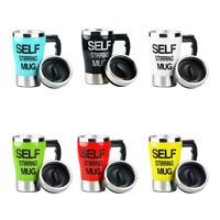 350ml Self Stirring Mug Coffee Milk Tea Automatic Mixing Cup Smart Thermal Cups