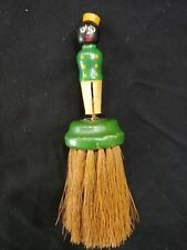 Vintage Black Americana Clothes Brush