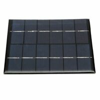 Mini 6V 2W DIY Solar Panel Module For Light Battery Cell Phone Charger 330m O3B1