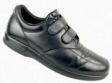 SAS VTO Black Leather 2 Strap Walking Comfort Oxford Loafer Shoes Mens 12 S