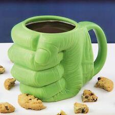 Officiel marvel avengers hulk poing en forme de 3D en céramique tasse de café-coffret