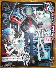 MONSTER HIGH GARROTT DU ROQUE & ROCHELLE LOVE IN SCARIS 2 Pack EXCLUSIVE TRU