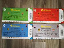 Ticket : Belgium - Russia 21-03-2019 Qualification Euro 2020