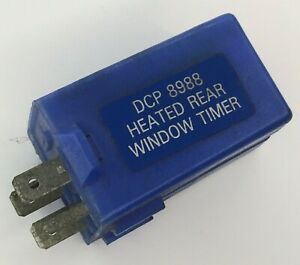 Classic MG Defender Heated Rear Window Screen Timer Relay SRB544 /  DCP8988