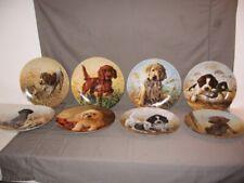 "New ListingSet of 8 Bradford Exchange ""Field Puppies"" Collector Plates Lynn Kaatz Mib"