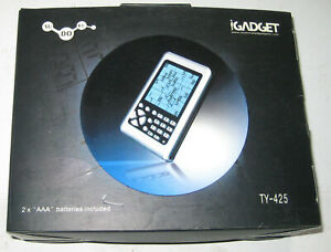 Igadget Gift Pocket Sudoku Portable Hand Held Electronic Game 3 Levels #TY-425