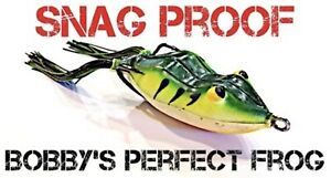 Snag Proof Bobby's Perfect Frog - Choose Color