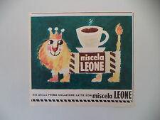 advertising Pubblicità 1959 MISCELA LEONE