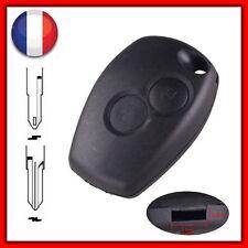 Coque Télécommande Plip Clé 2 Boutons Pour Renault Clio Espace Laguna