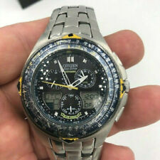 Citizen Eco Drive Watch Blue Angels C651-T000959 Analog/ Digital  Working