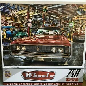 Wheels First Love 750 pc Jigsaw Puzzle Collectible w Bonus Poster NEW