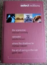 Select Editions, The Scarecrow, Rainwater, Where the Shadows Lie, The art of r,