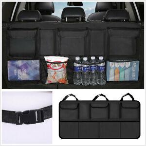 1Pcs Portable Storage Bag Net Oxford Multi-use Universal Fit For Car Seat Back