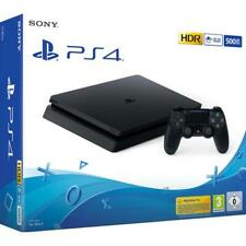 SONY PS4 PLAYSTATION CONSOLE 500GB SLIM NERA BLACK GARANZIA ITALIA 24 MESI