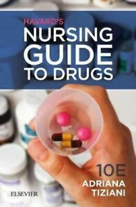 NEW Havard's Nursing Guide to Drugs By Adriana Tiziani Paperback Free Shipping