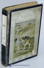 Heidi: A Child's Story of Life in the Alps by Johanna SPYRI Poor illus. HC 81085
