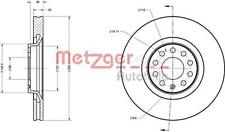METZGER Brake Disc For AUDI SEAT A4 Avant A6 Allroad Exeo St 4B 8D 8E 8H 95-10