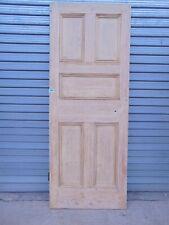 Reclaimed Georgian Pine Internal  Wooden Door 897