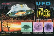 2015 Atlantis Models #1006 Aurora The Invaders UFO 1/72 Scale Model Kit new in