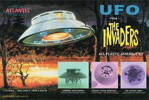 2015 Atlantis Modèles #1006 Aurora The Invaders UFO 1/72 Maquette Kit Neuf