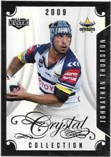 2017 NRL Elite Crystal Collection (CC 23) Jonathan THURSTON Cowboys 2009