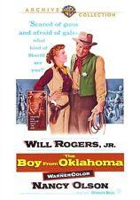 BOY FROM OKLAHOMA - (1954 Will Rogers Jnr) Region Free DVD - Sealed