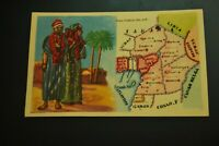 Vintage Cigarettes Card. West equatorial Africa Territories. WORLD'S REGIONS